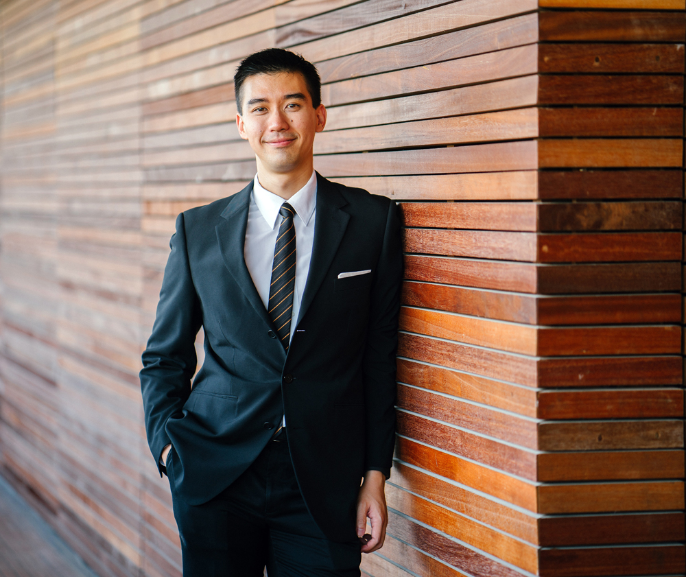image showing a young realestate agent in a suit